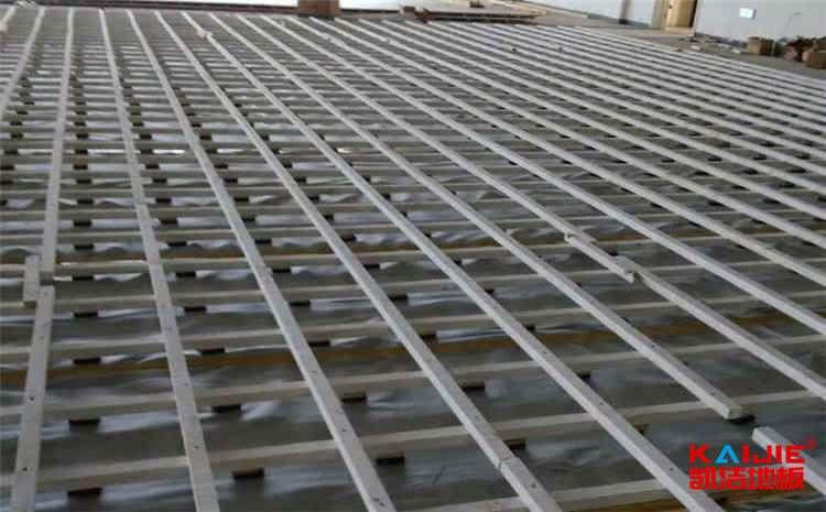 广东体育地板施工方案