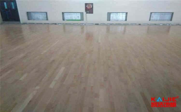 柞木实木运动地板施工技术