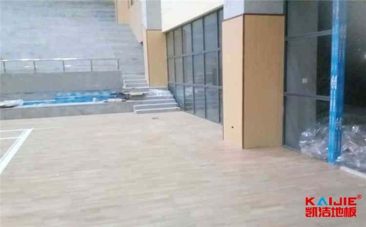 黑龙江体育地板怎么安装