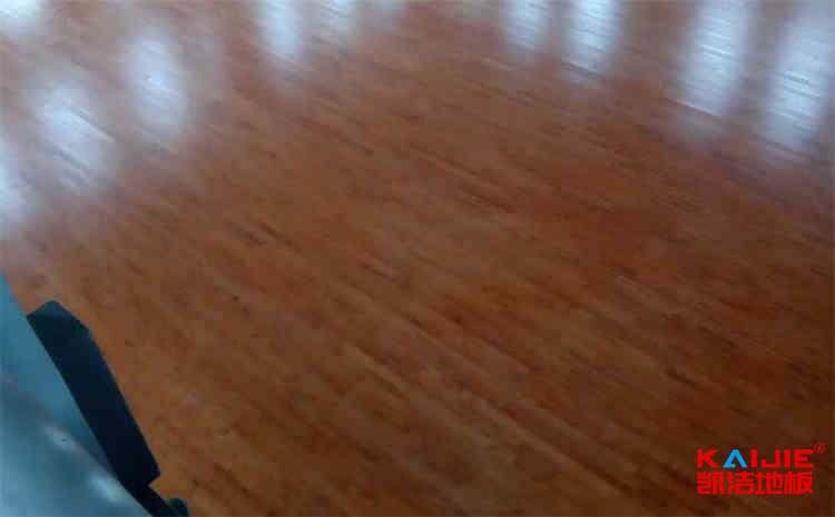 柞木篮球地板维修