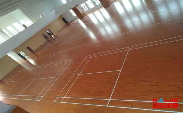武汉枫桦木体育地板多少钱