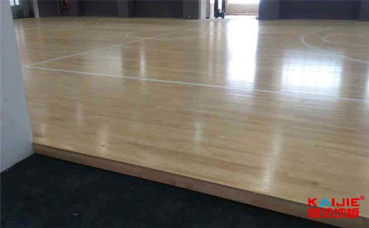 重庆专用实木运动地板施工方案