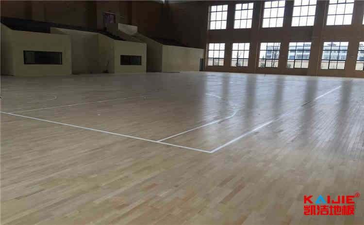 松木舞蹈室木地板保养