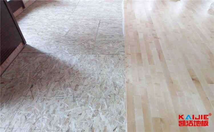 济南枫桦木篮球地板价格