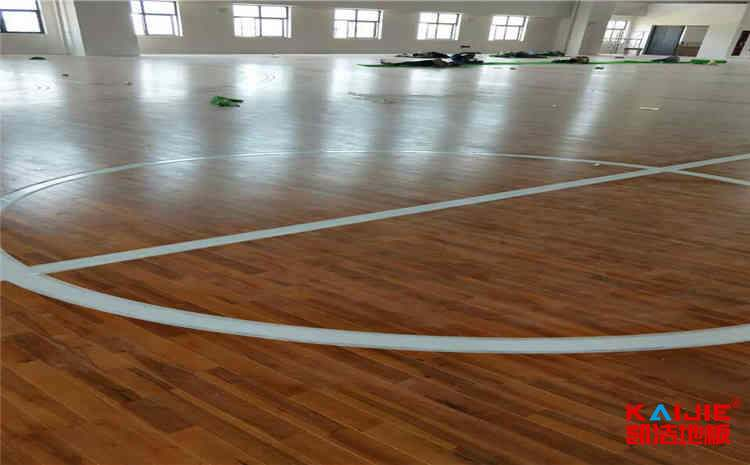 成都企口篮球场地板施工工艺