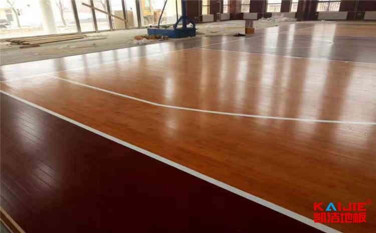 陕西体育地板厂家