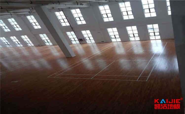 广西实木运动地板施工技术