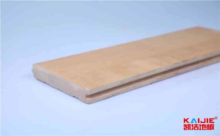 吉林柞木实木运动地板怎么安装