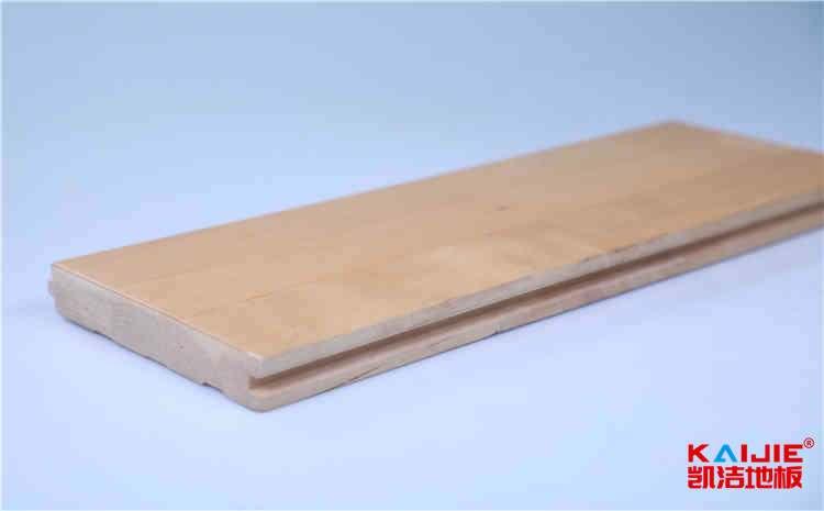 拼装实木运动地板怎么保养