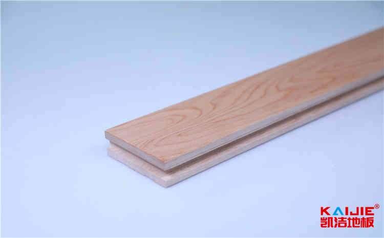 成都企口实木运动地板结构