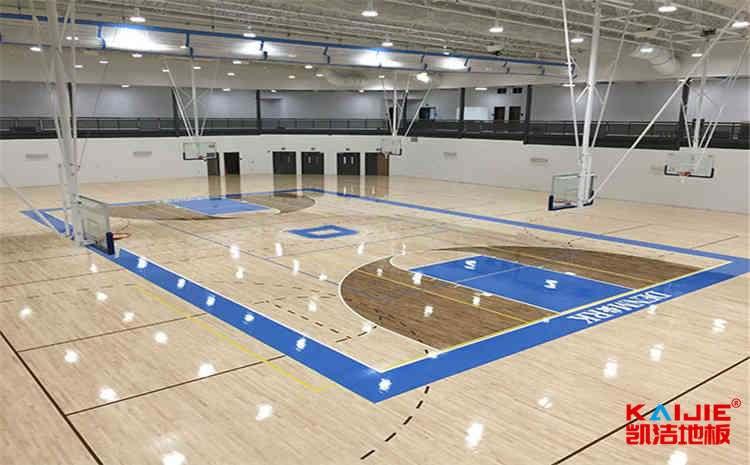武汉篮球地板施工方案