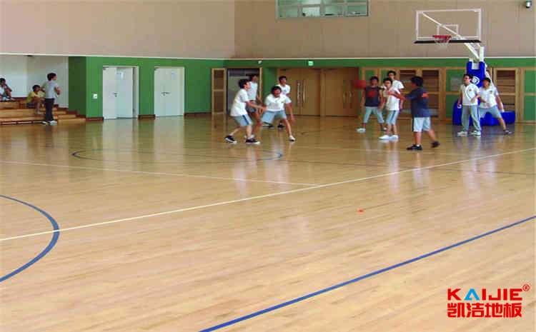广东专业篮球场地板结构