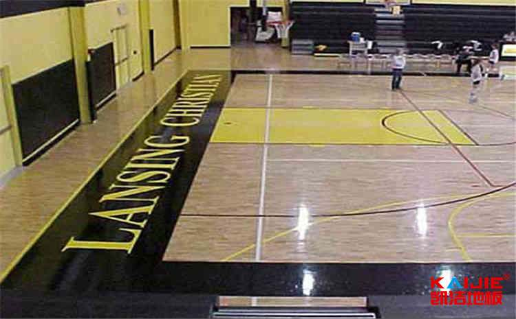常见的体育地板翻新