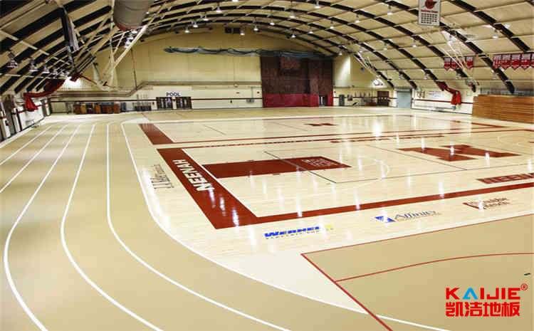南昌专业篮球地板施工工艺