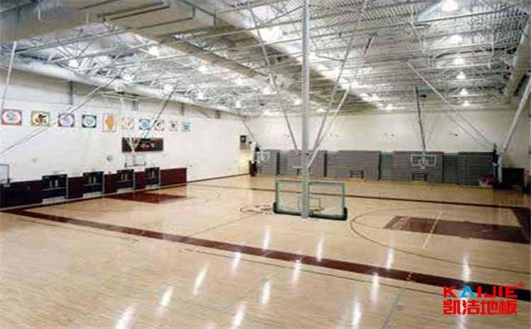 黑龙江专业篮球场地板怎么安装