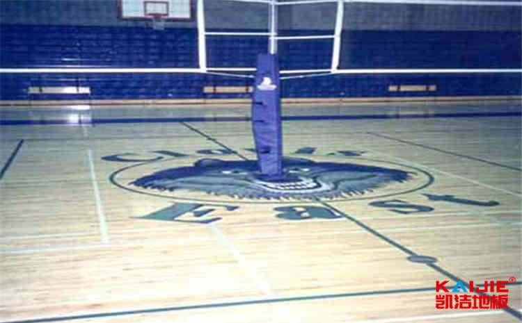 黑龙江专用篮球地板怎么安装