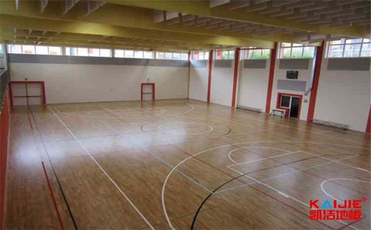 吉林体育地板安装