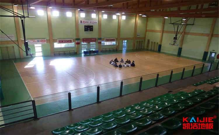 长春体育地板结构