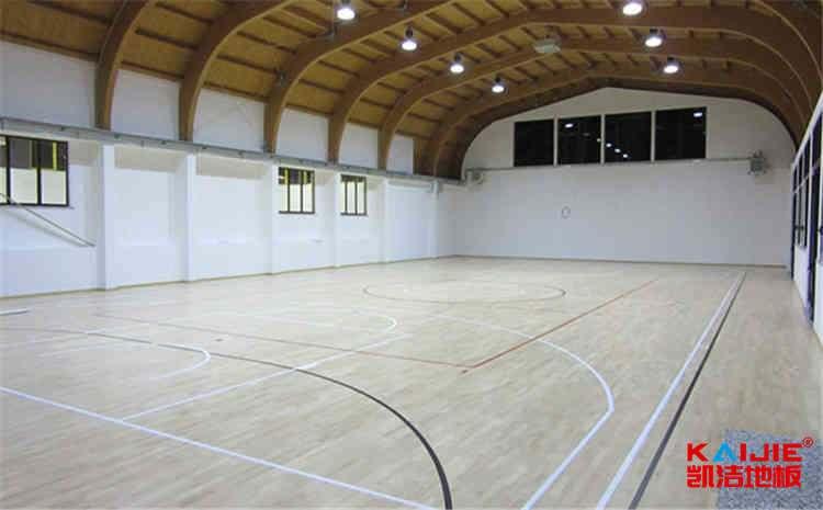 室内实木运动地板
