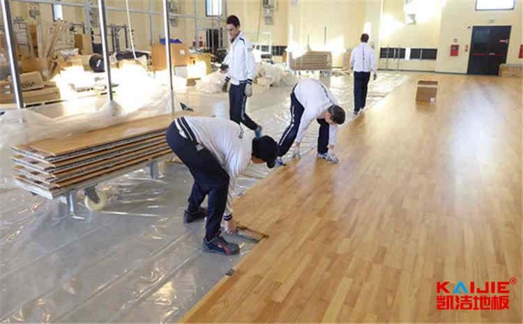 西安枫桦木体育地板批发