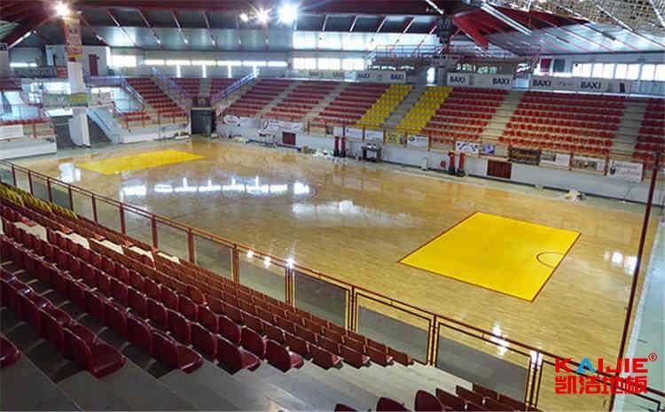 成都企口篮球地板厂