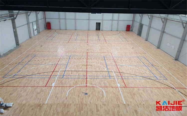 大型运动木地板怎么保养