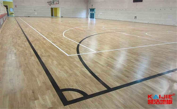 大型体育地板维修