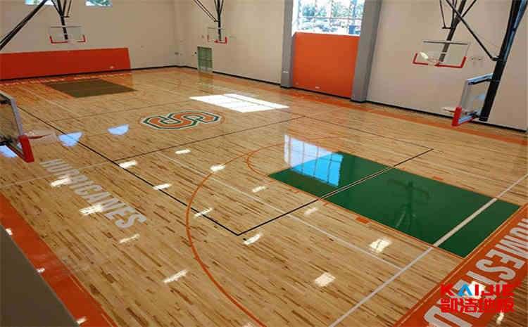 柞木篮球场地木地板怎么保养?