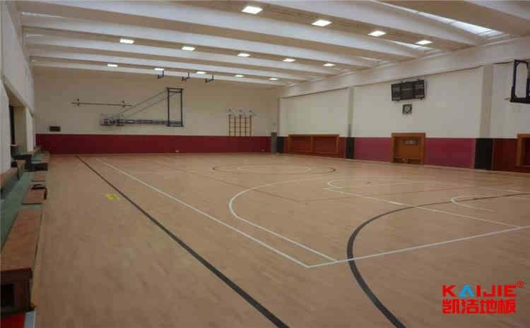 指接板木地板篮球场怎么维修?