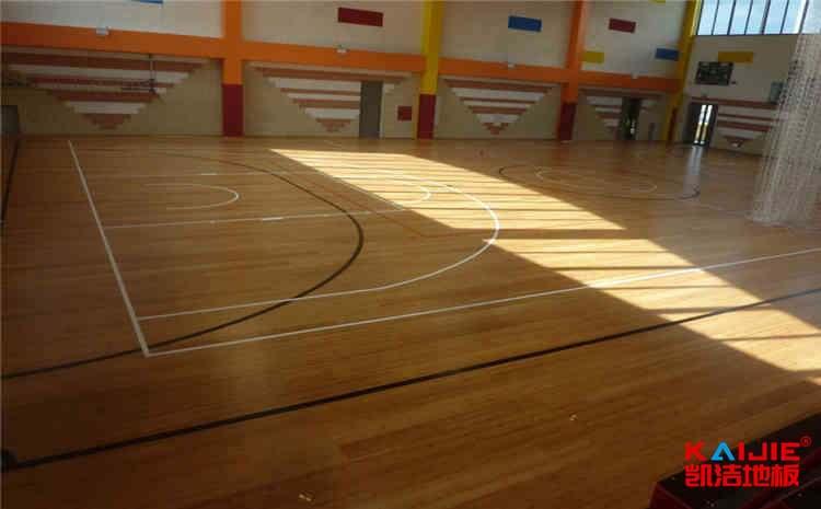 篮球场木地板安装检测效果是什么?