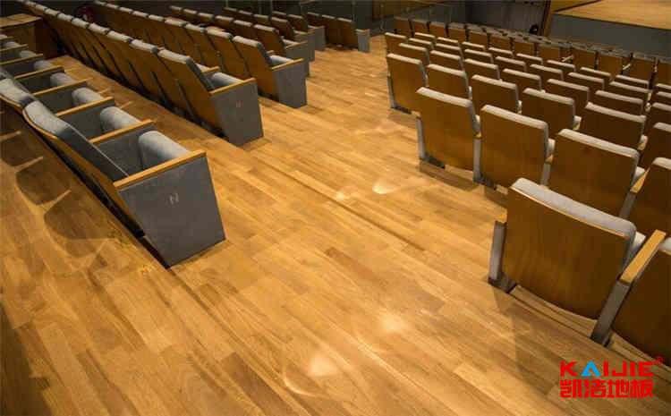体育木地板安装施工