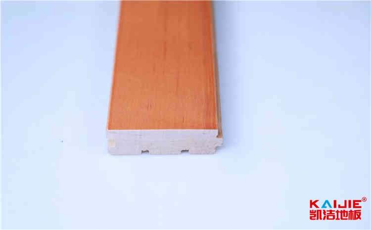 学校实木运动地板厚度