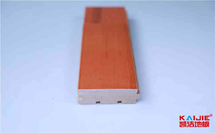 体育馆木地板的材质、结构和用途