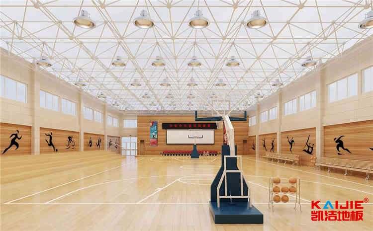 上海专用实木运动地板结构
