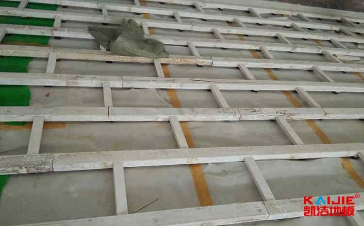 硬木企口体育场木地板保养