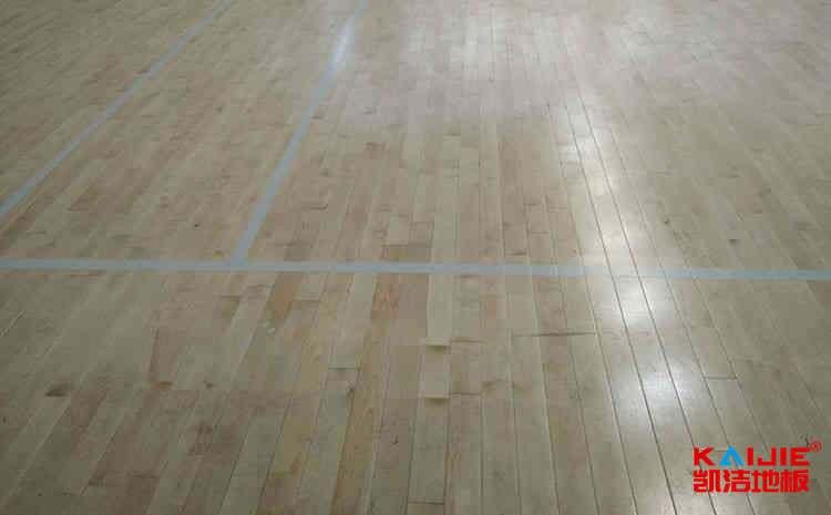 兰州枫桦木实木运动地板直销
