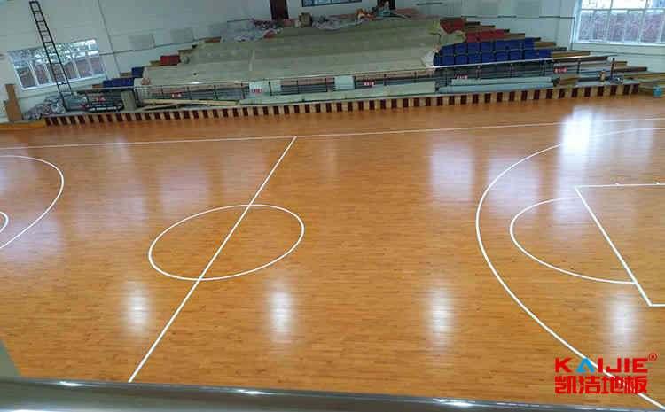西安专业篮球地板结构