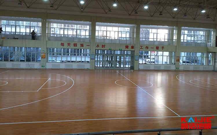 广西专用篮球地板施工