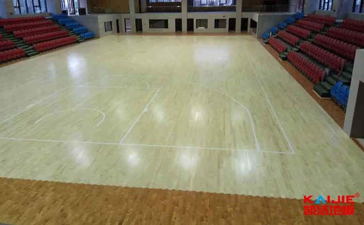 枫木舞台木地板维修