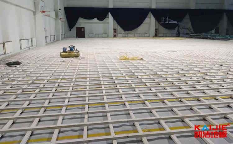 常用的实木运动地板怎么安装
