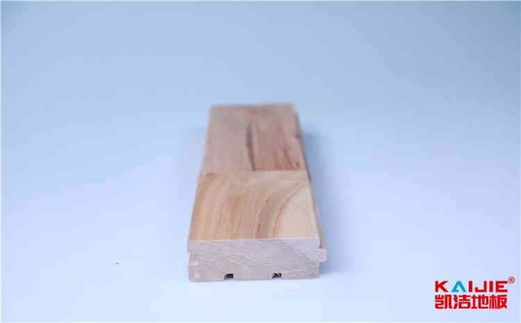 松木实木运动地板施工技术