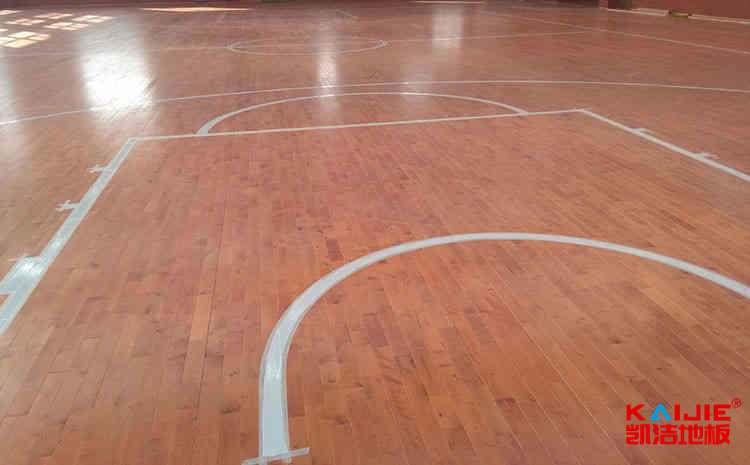 太原枫桦木篮球地板厚度