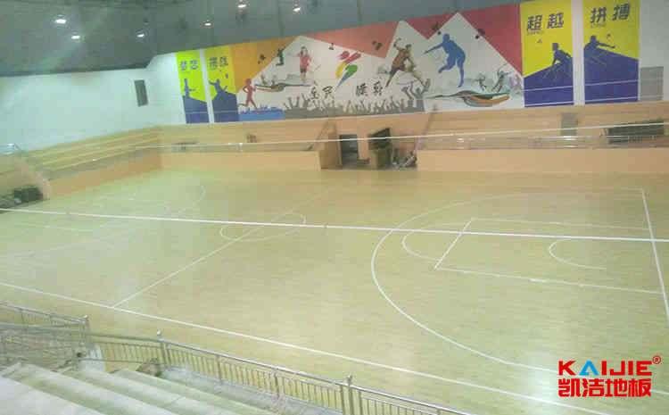 新疆企口篮球地板施工技术