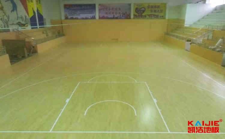 专用体育场木地板怎么安装