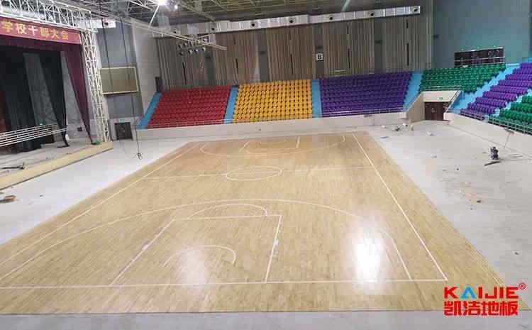 训练馆实木运动地板多少钱一平米