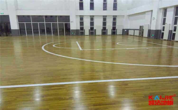 长沙柞木篮球场地板厂商