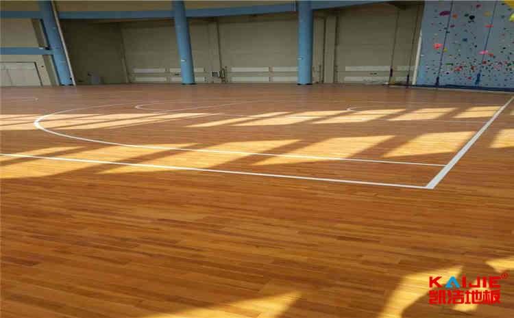 重庆硬木企口运动木地板公司