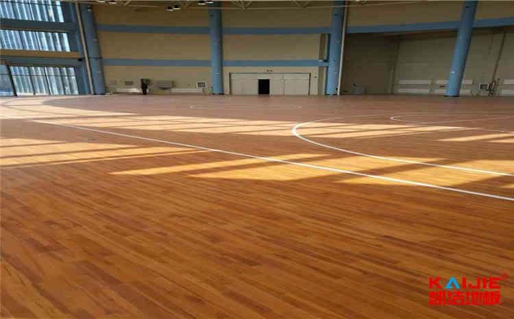 柞木运动实木地板施工工艺