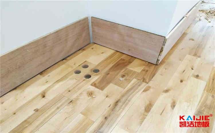 北京枫桦木体育地板施工工艺