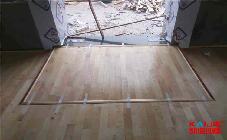 武汉柞木体育地板厂家直销
